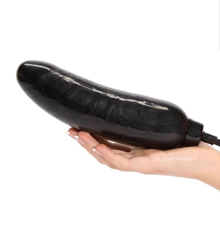 Inflatable vibrating dildo chair